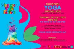 SINGAPORE YOGA FESTIVAL 2018